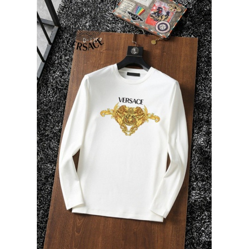 Versace T-Shirts Long Sleeved For Men #896114 $34.00 USD, Wholesale Replica Versace T-Shirts
