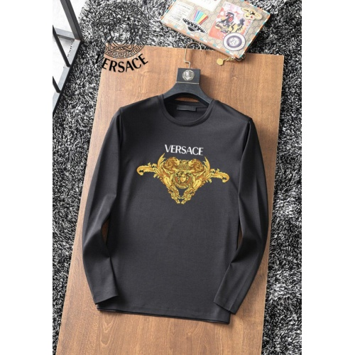 Versace T-Shirts Long Sleeved For Men #896115 $34.00 USD, Wholesale Replica Versace T-Shirts