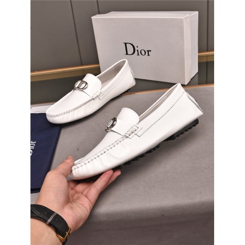 Christian Dior Leather Shoes For Men #896176