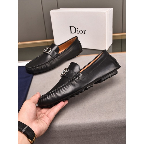 Christian Dior Leather Shoes For Men #896177
