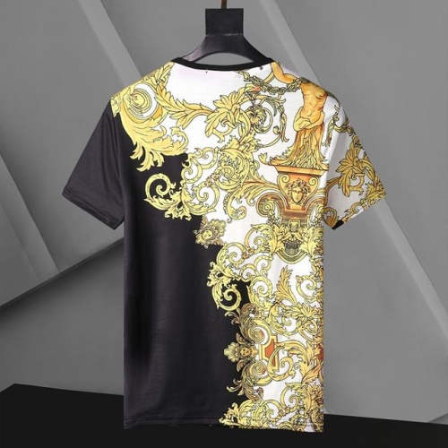 Replica Versace T-Shirts Short Sleeved For Men #896527 $24.00 USD for Wholesale