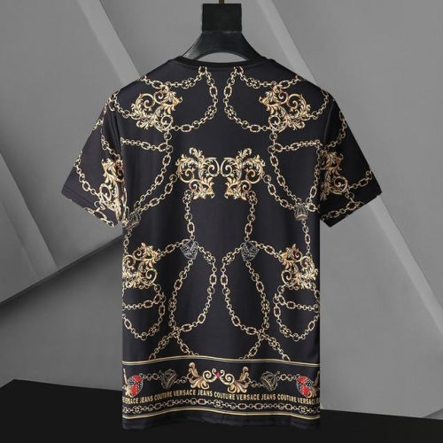 Replica Versace T-Shirts Short Sleeved For Men #896529 $24.00 USD for Wholesale