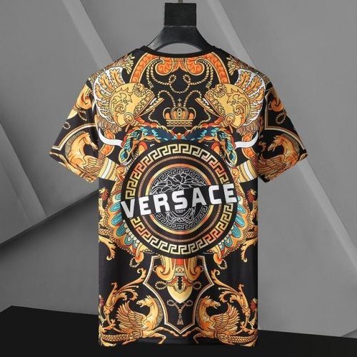 Replica Versace T-Shirts Short Sleeved For Men #896530 $24.00 USD for Wholesale