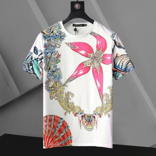 Versace T-Shirts Short Sleeved For Men #896531 $24.00 USD, Wholesale Replica Versace T-Shirts