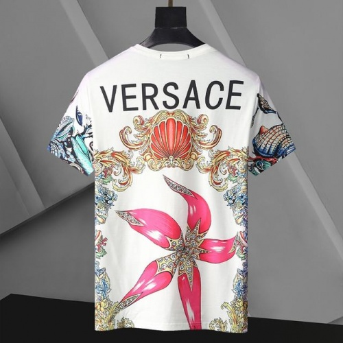 Replica Versace T-Shirts Short Sleeved For Men #896531 $24.00 USD for Wholesale