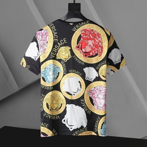 Replica Versace T-Shirts Short Sleeved For Men #896533 $24.00 USD for Wholesale