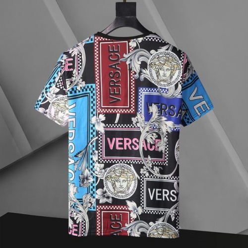 Replica Versace T-Shirts Short Sleeved For Men #896534 $24.00 USD for Wholesale