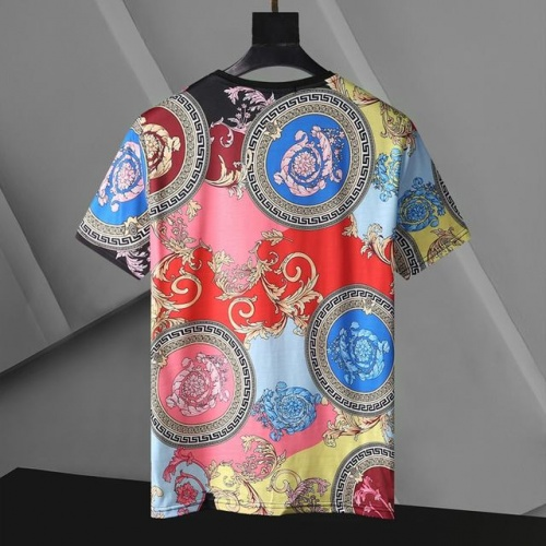Replica Versace T-Shirts Short Sleeved For Men #896536 $24.00 USD for Wholesale