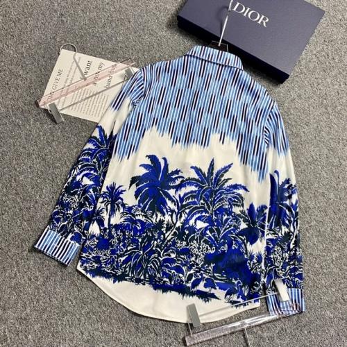 Christian Dior Shirts Long Sleeved For Men #896903