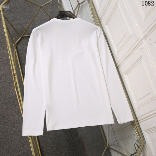 Replica Versace T-Shirts Long Sleeved For Men #897773 $34.00 USD for Wholesale