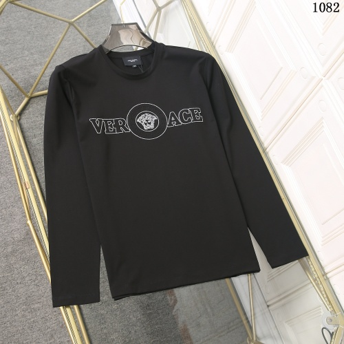 Versace T-Shirts Long Sleeved For Men #897774 $34.00 USD, Wholesale Replica Versace T-Shirts