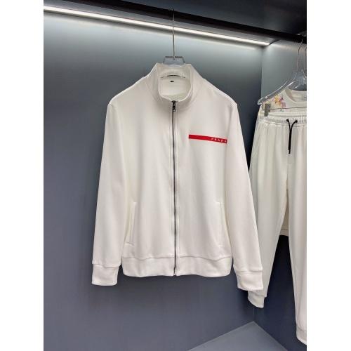 Prada Tracksuits Long Sleeved For Men #897783