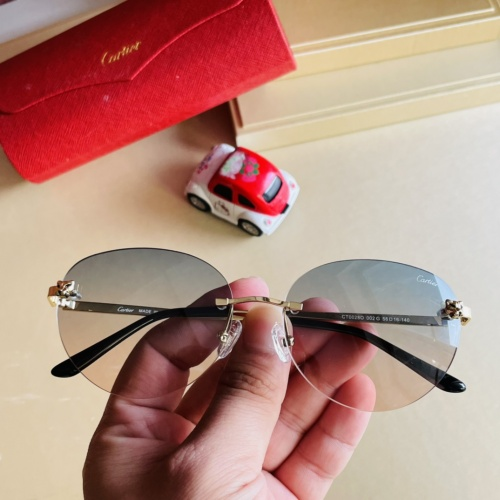 Cartier AAA Quality Sunglassess #897894