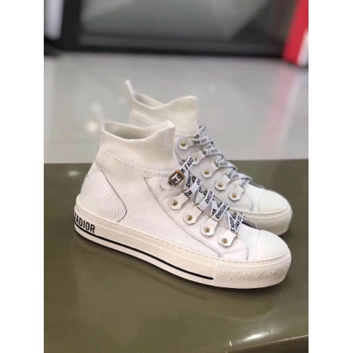 Christian Dior High Tops Shoes For Women #897999