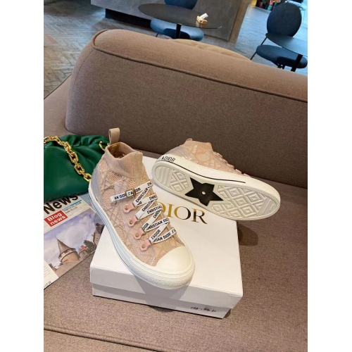 Christian Dior High Tops Shoes For Women #898004