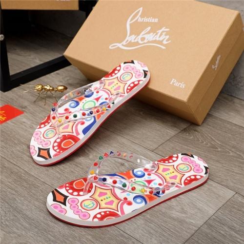 Christian Louboutin CL Slippers For Men #898525