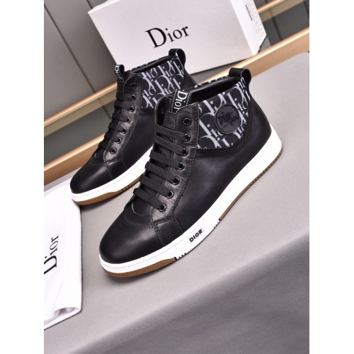 Christian Dior High Tops Shoes For Men #898788