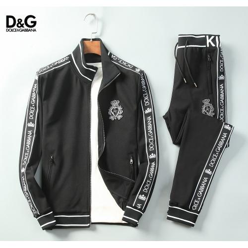 Dolce & Gabbana D&G Tracksuits Long Sleeved For Men #898886
