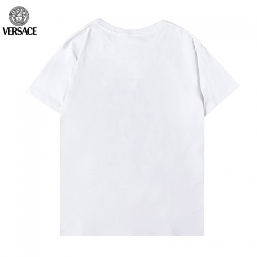 Replica Versace T-Shirts Short Sleeved For Men #899560 $29.00 USD for Wholesale