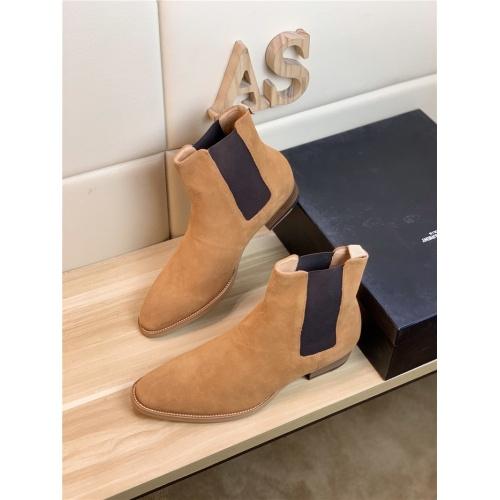 Yves Saint Laurent Boots For Men #900575