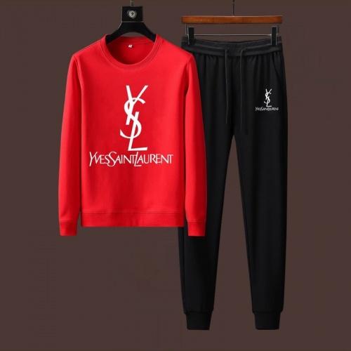 Yves Saint Laurent YSL Tracksuits Long Sleeved For Men #901547