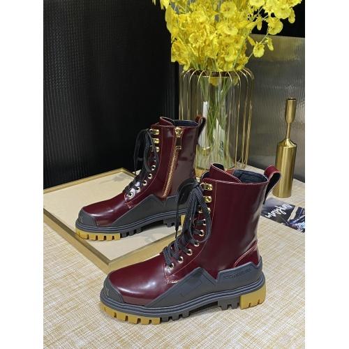 Dolce & Gabbana D&G Boots For Women #902742