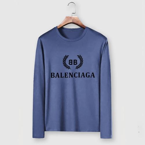 Balenciaga T-Shirts Long Sleeved For Men #903348