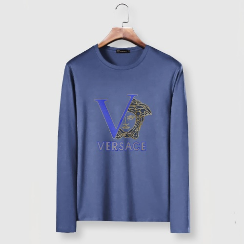 Versace T-Shirts Long Sleeved For Men #903442 $29.00 USD, Wholesale Replica Versace T-Shirts