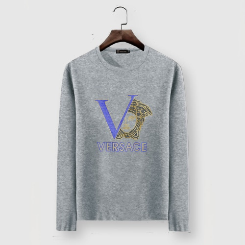 Versace T-Shirts Long Sleeved For Men #903443 $29.00 USD, Wholesale Replica Versace T-Shirts