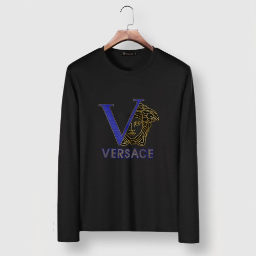 Versace T-Shirts Long Sleeved For Men #903444 $29.00 USD, Wholesale Replica Versace T-Shirts
