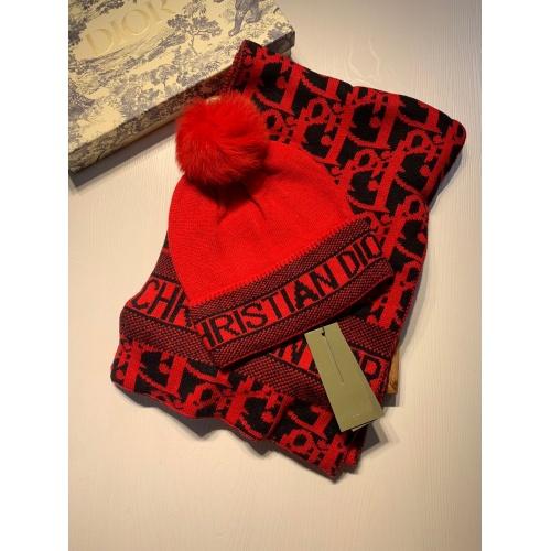 Christian Dior Scarf & Hat Set #903646