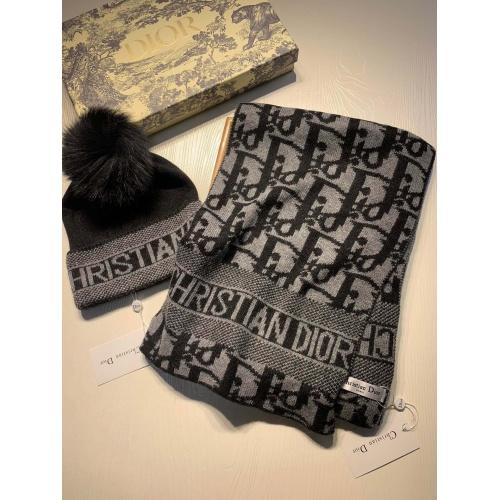 Christian Dior Scarf & Hat Set #903647