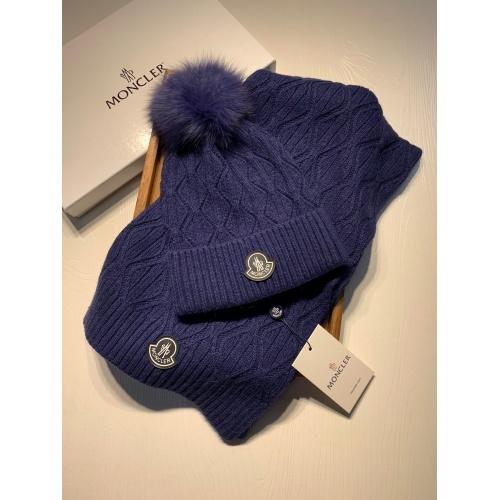 Moncler Scarf & Hat Set# #903735
