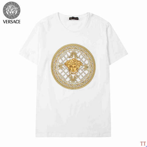 Versace T-Shirts Short Sleeved For Men #904101 $34.00 USD, Wholesale Replica Versace T-Shirts