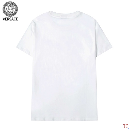 Replica Versace T-Shirts Short Sleeved For Men #904101 $34.00 USD for Wholesale