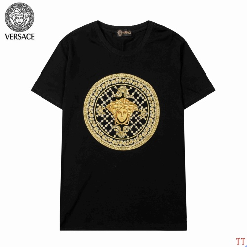Versace T-Shirts Short Sleeved For Men #904102 $34.00 USD, Wholesale Replica Versace T-Shirts