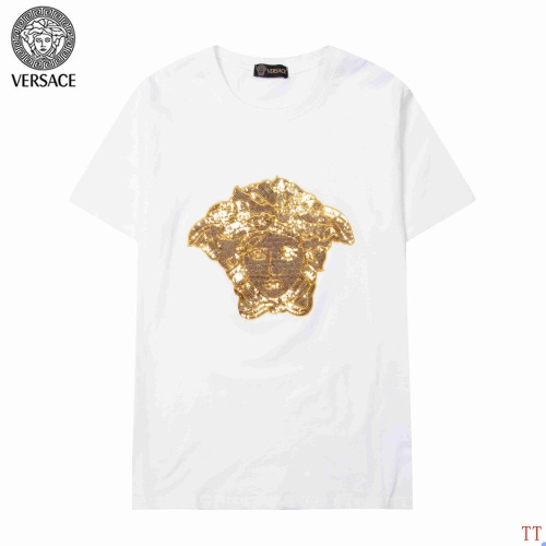 Versace T-Shirts Short Sleeved For Men #904106 $34.00 USD, Wholesale Replica Versace T-Shirts