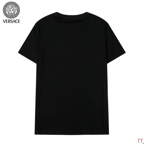Replica Versace T-Shirts Short Sleeved For Men #904107 $34.00 USD for Wholesale
