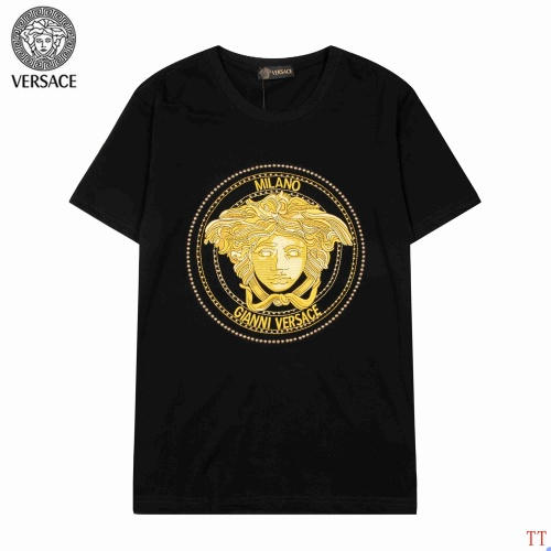 Versace T-Shirts Short Sleeved For Men #904108 $36.00 USD, Wholesale Replica Versace T-Shirts
