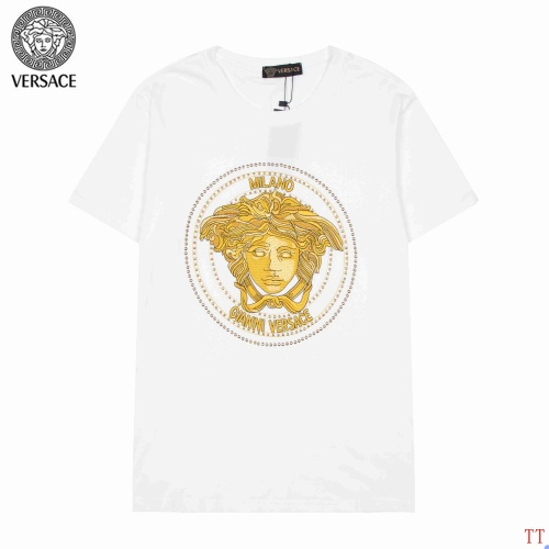 Versace T-Shirts Short Sleeved For Men #904109 $36.00 USD, Wholesale Replica Versace T-Shirts