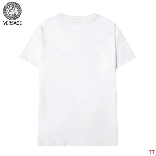 Replica Versace T-Shirts Short Sleeved For Men #904109 $36.00 USD for Wholesale