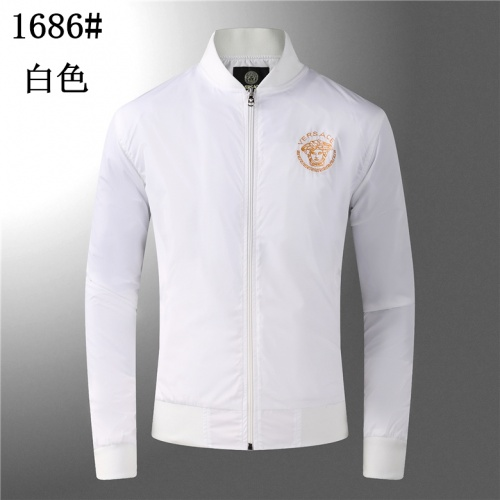 Versace Jackets Long Sleeved For Men #904207