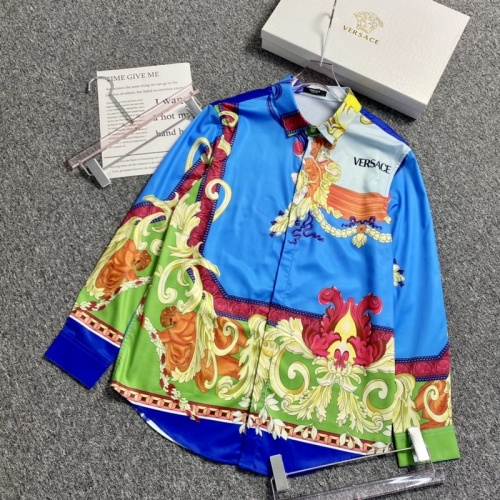Versace Shirts Long Sleeved For Men #904210