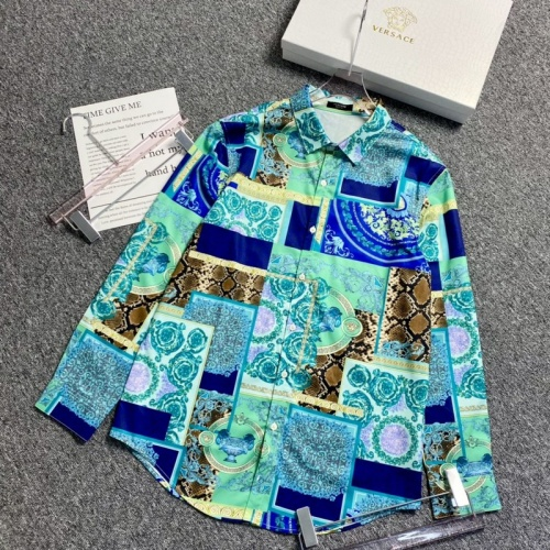 Versace Shirts Long Sleeved For Men #904213