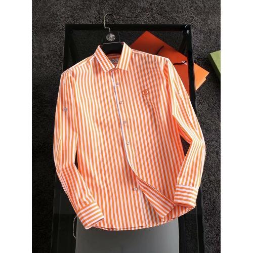 Hermes Shirts Long Sleeved For Men #904804