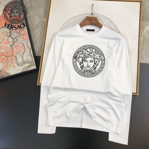 Versace T-Shirts Long Sleeved For Men #905021 $34.00 USD, Wholesale Replica Versace T-Shirts