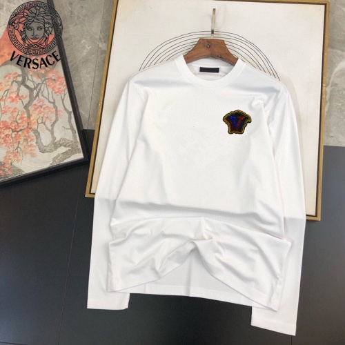 Versace T-Shirts Long Sleeved For Men #905025