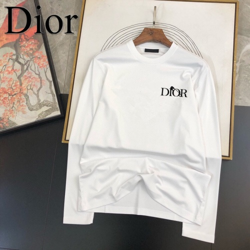 Christian Dior T-Shirts Long Sleeved For Men #905049