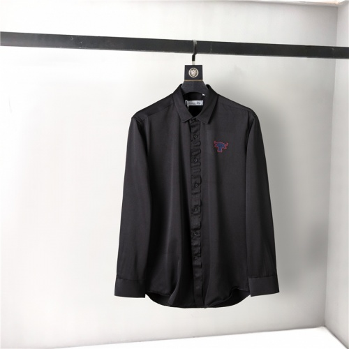 Christian Dior Shirts Long Sleeved For Men #905685