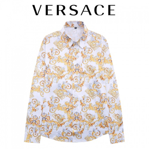 Versace Shirts Long Sleeved For Men #906280